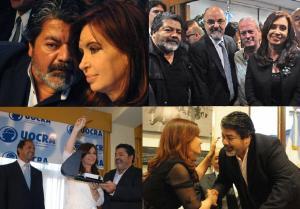 Decenas de fotos registran las habituales visitas de Gerardo Martínez a los despachos oficiales